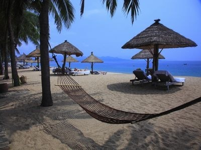 ニャチャンのビーチ