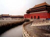 春節「人気観光地、北京、故宮博物院」