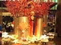 上海の春節は赤と金で賑やかに