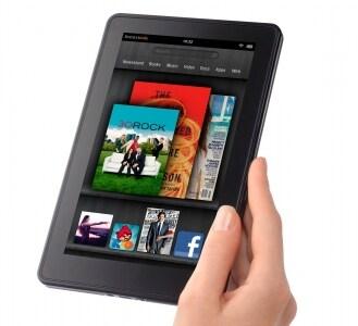米Amazonが2011年11月に米国で発売した7型ディスプレイ搭載のAndroidタブレット「KindleFire」。199ドルという価格が魅力で大ヒットしている