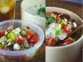 野菜たっぷり!10分で完成、ぶっかけサラダ丼弁当