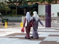 マレー系マレーシア人の女性