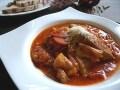 豚ロース肉のトマト煮込み