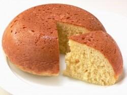 餅+ホットケーキミックスで作る、もちもちケーキ