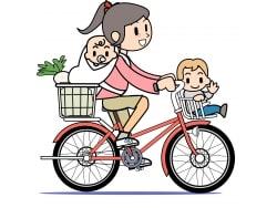 抱っこ紐やおんぶで自転車に乗るのはOKか?