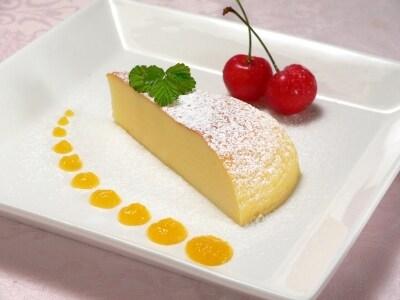 牛乳から作る、カッテージチーズケーキ