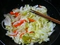 ツナ入り野菜炒め