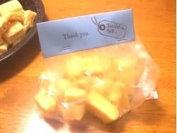 ポリ袋で手作りお菓子をラッピングする方法