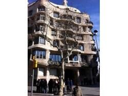ガウディ建築「カサ・ミラ」