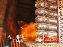 全長46mのまばゆい涅槃仏は必見!「ワット・ポー」