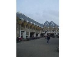 モダンな建築物 キュービックハウス
