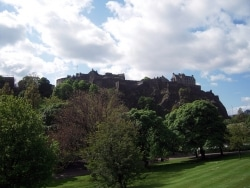 スコットランド 「エディンバラ城」