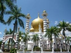 ウブディアモスクはマレーシアで一番の美しさ!