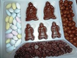 リアル可愛い、お相撲さんのチョコレート