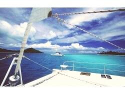 太平洋の真珠 ボラボラ島でクルージング