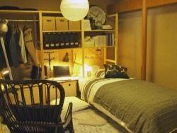和室の男子部屋を押入れ収納で片付ける