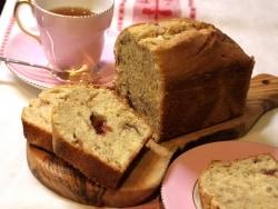 春らしさを味わう苺のパウンドケーキ