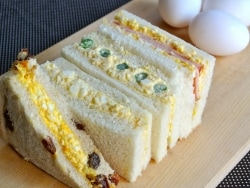 お弁当1年生でも簡単! 基本の卵サンドと応用