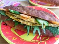 ベトナム風米粉入りミニバゲット
