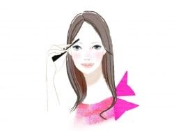 黒髪に合う眉毛の色と眉メイクの仕方を教えてください