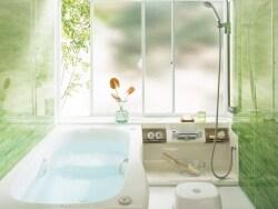 ユニットバスリフォームで、増築なしでお風呂を広げる