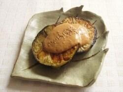 米茄子のマヨ味噌田楽