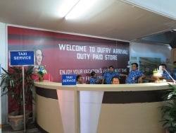 バリ空港から市街地へタクシーでアクセス