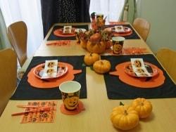 10分で出来るハロウィンのテーブルコーディネート