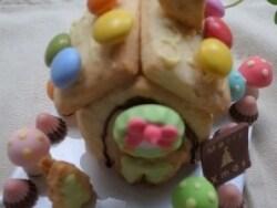 100円ショップで発見!「小さなお菓子の家」