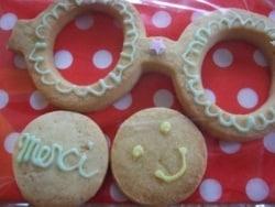 簡単だけど可愛い!パステルカラーのメガネ型クッキー