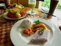 アーユルヴェーダ施設で戴く食事は、サットヴァ的な内容です。食事内容を見直すのも、美しい人のヒントになりますよ。