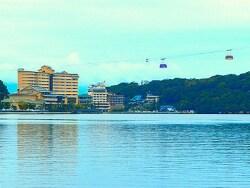 舘山寺温泉は遠州地方を代表する一大リゾート温泉地