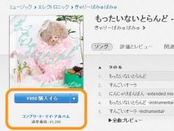 iTunes Storeで音楽を購入しよう