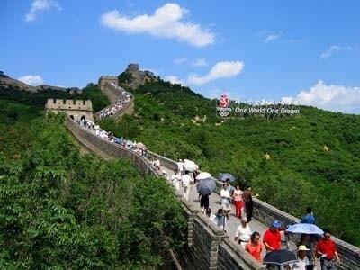 最も有名な万里の長城・八達嶺