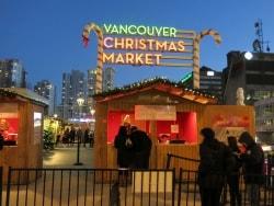 今や定番! バンクーバーのクリスマスマーケット