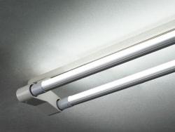 直管形LEDランプ用ダクトレールソケット