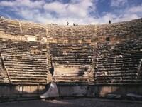 約2万人を収容したというヒエラポリスの円形劇場©牧哲雄