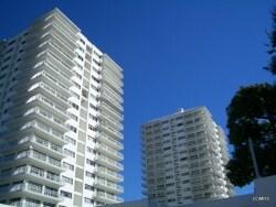 タワーマンションの先駆け、三田綱町パークマンション