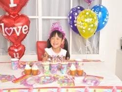 誕生会のテーブルコーディネートアイデア