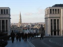 ブリュッセルの山の手と王宮周辺をまわる半日プラン