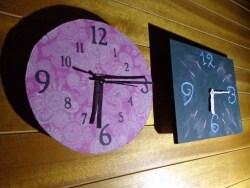 100均の壁掛け時計を使って自分好みにリメイク&DIY