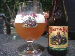 ハチミツを使ったほのかに甘いビール ミエール ビオ