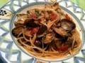 トマトとアサリのスパゲッティ ボンゴレロッソ