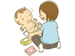 何とかしてあげたい…! 赤ちゃんのおむつかぶれ対策