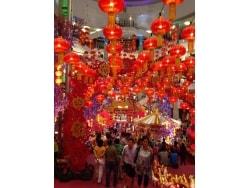 幸運の象徴、みかん。マレーシアの中国正月(旧正月)