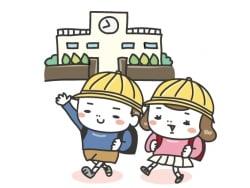 【白黒・カラー】学校生活のイラストカット集