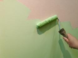 半日でできる!壁紙の上から色を塗る_セルフペイント3