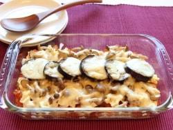 ホワイトソースなしの、野菜と豆腐のヘルシーグラタン