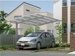 耐風圧強度を高めたカーポート/2015.06 新商品