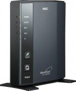 無線LAN機器には、安心して使うためのセキュリティ機能が入っています。写真は「NEC Aterm WR8700N」
